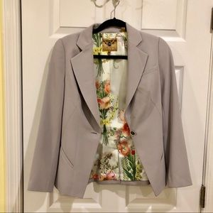 Ted Baker one-button lapel blazer, size 0